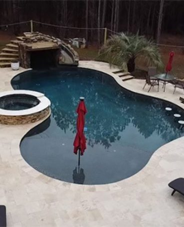 custom inground pool